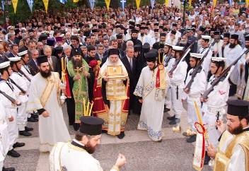 Greece receives the relics of St Seraphim of Sarov